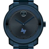 US Air Force Academy Men's Movado BOLD Blue Ion with Bracelet