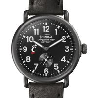 Cincinnati Shinola Watch, The Runwell 41mm Black Dial