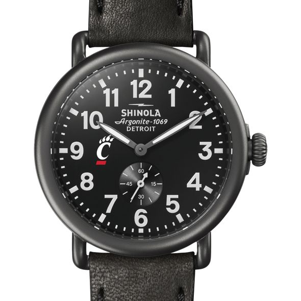 Cincinnati Shinola Watch, The Runwell 41mm Black Dial - Image 1