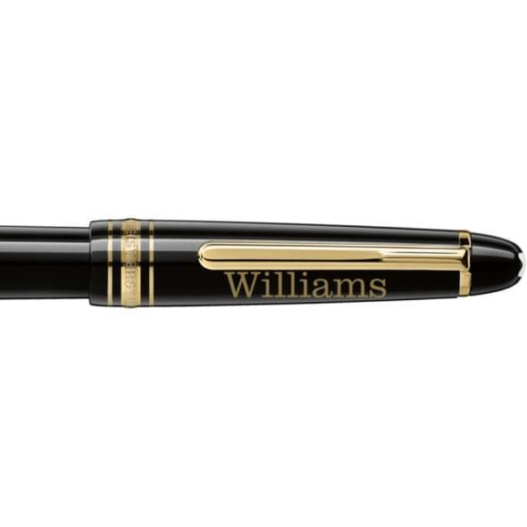 Williams College Montblanc Meisterstück Classique Fountain Pen in Gold - Image 2