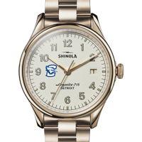 Creighton Shinola Watch, The Vinton 38mm Ivory Dial