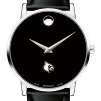University of Louisville Men's Movado Museum with Leather Strap