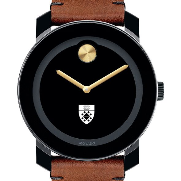 Yale SOM Men's Movado BOLD with Brown Leather Strap - Image 1