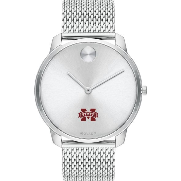Mississippi State Men's Movado Stainless Bold 42 - Image 2