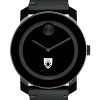 Yale SOM Men's Movado BOLD with Leather Strap
