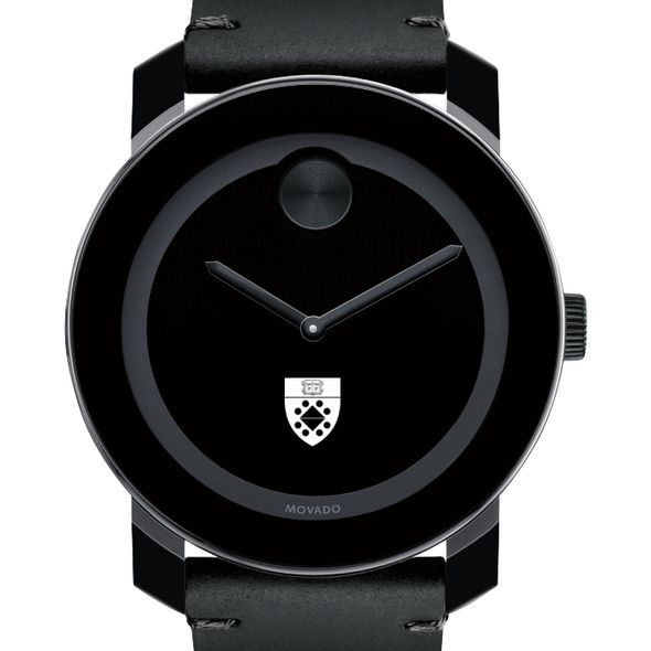 Yale SOM Men's Movado BOLD with Leather Strap - Image 1
