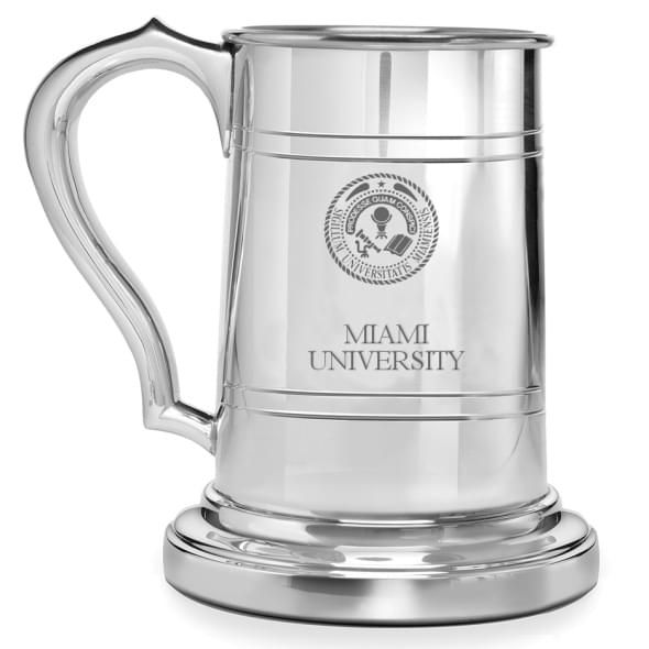 Miami University Pewter Stein - Image 1