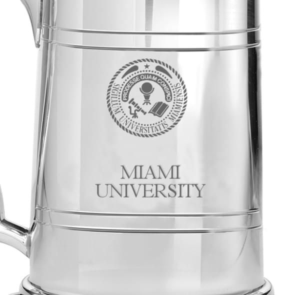 Miami University Pewter Stein - Image 2