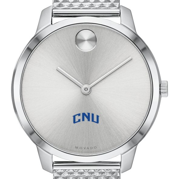 Christopher Newport University Women's Movado Stainless Bold 35