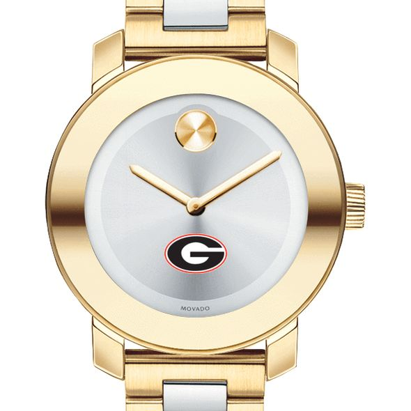 University of Georgia Women's Movado Two-Tone Bold