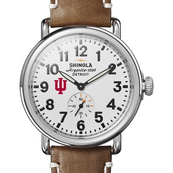 Indiana Shinola Watch, The Runwell 41mm White Dial