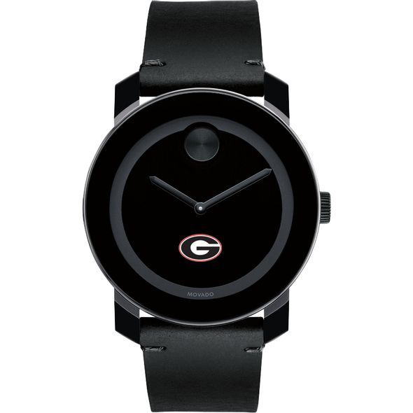 University of Georgia Men's Movado BOLD with Leather Strap - Image 2