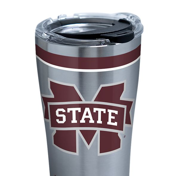 MS State 20 oz. Stainless Steel Tervis Tumblers with Hammer Lids - Set of 2 - Image 2