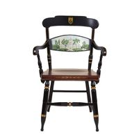 Hand-painted Lehigh University Campus Chair by Hitchcock