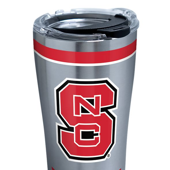 NC State 20 oz. Stainless Steel Tervis Tumblers with Hammer Lids - Set of 2 - Image 2