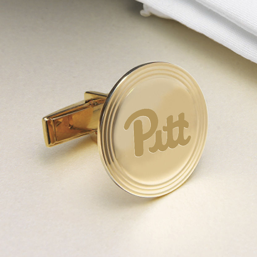 Pittsburgh 14K Gold Cufflinks - Image 2