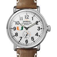 Miami Shinola Watch, The Runwell 41mm White Dial