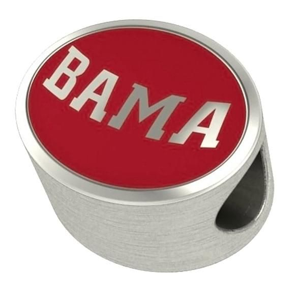 Alabama Enameled Bead in Color