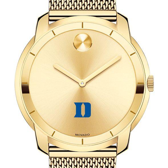 Duke University Men's Movado Gold Bold 44