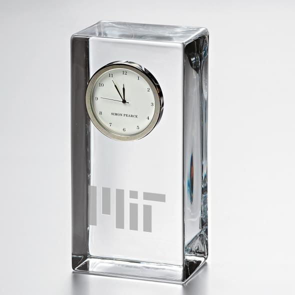 MIT Tall Desk Clock by Simon Pearce