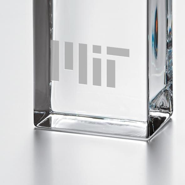 MIT Tall Desk Clock by Simon Pearce - Image 2