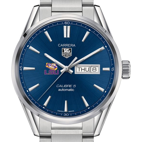 Louisiana State University Men's TAG Heuer Carrera with Day-Date