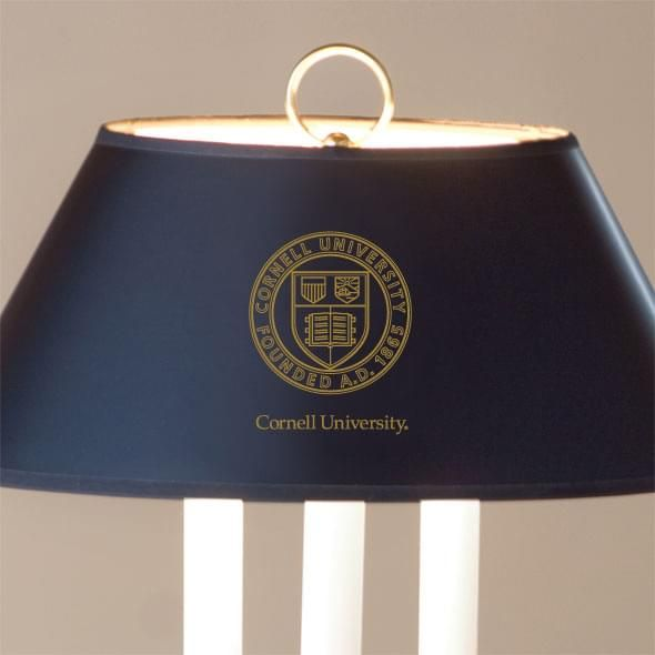 Cornell University Lamp in Brass & Marble - Image 2