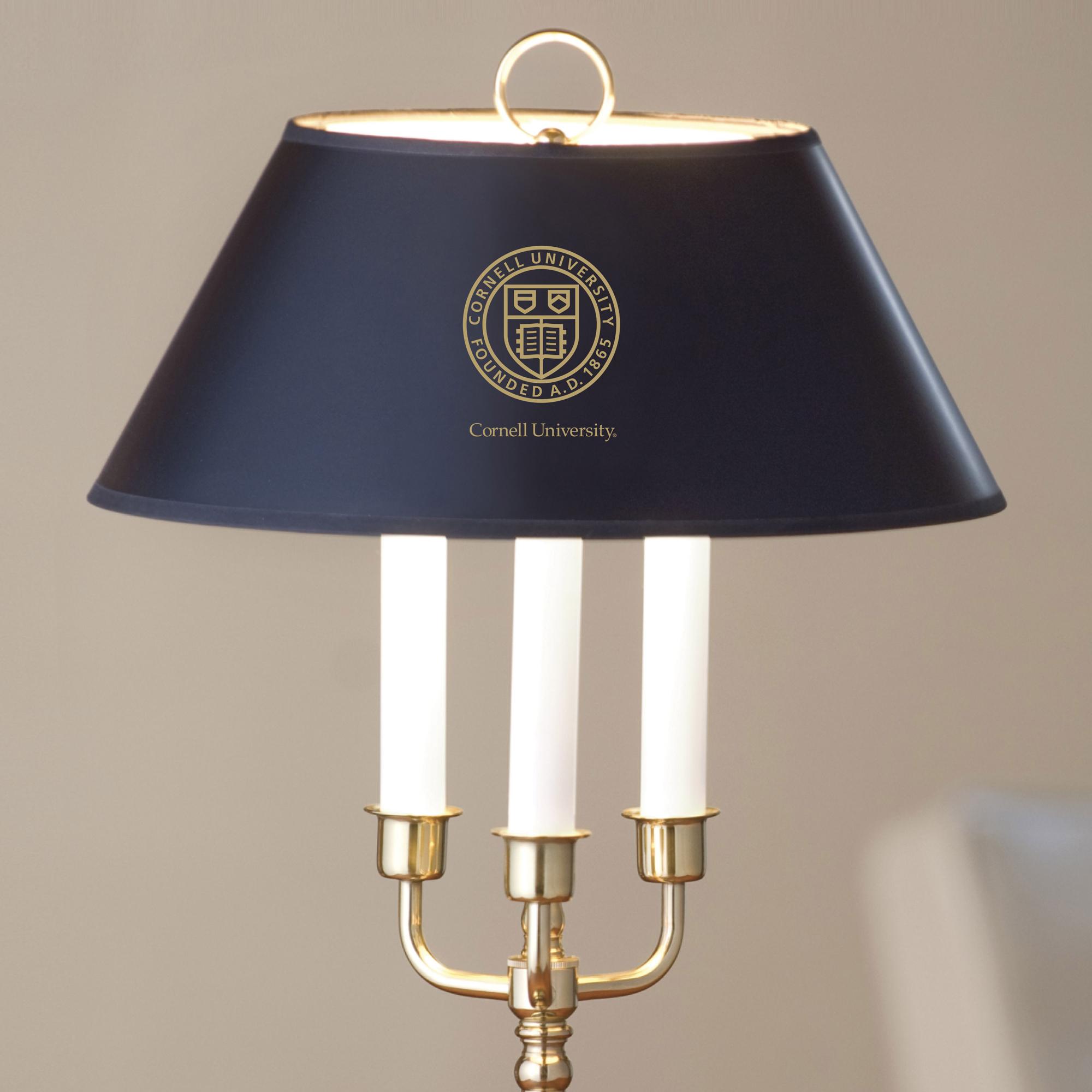 Cornell University Lamp in Brass & Marble - Image 2