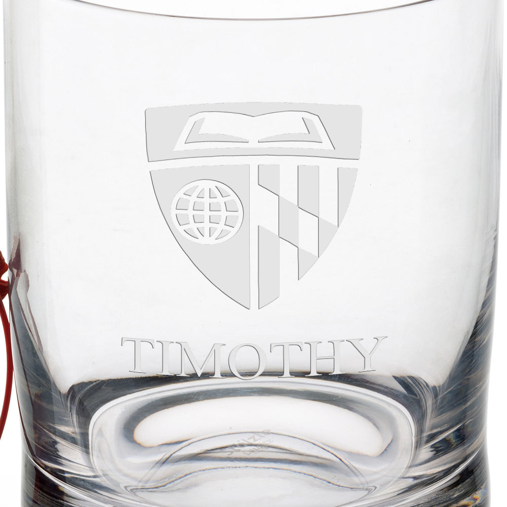 Johns Hopkins University Tumbler Glasses - Set of 4 - Image 3