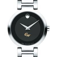 George Washington University Women's Movado Museum with Steel Bracelet