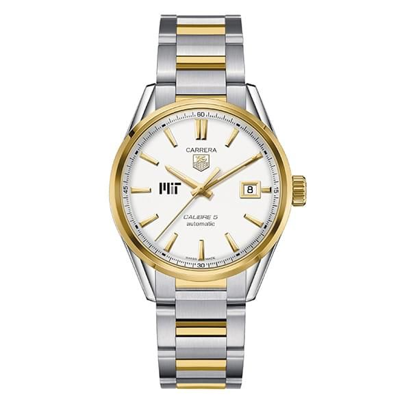 MIT Men's TAG Heuer Two-Tone Carrera with Bracelet - Image 2