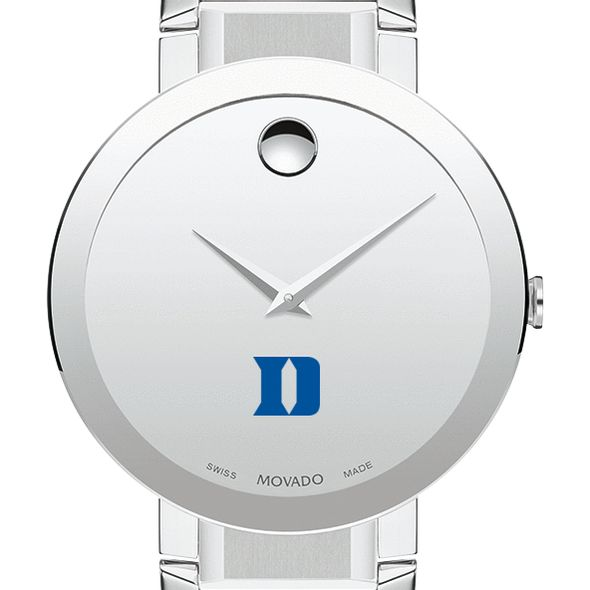 Duke University Men's Movado Sapphire Museum with Bracelet