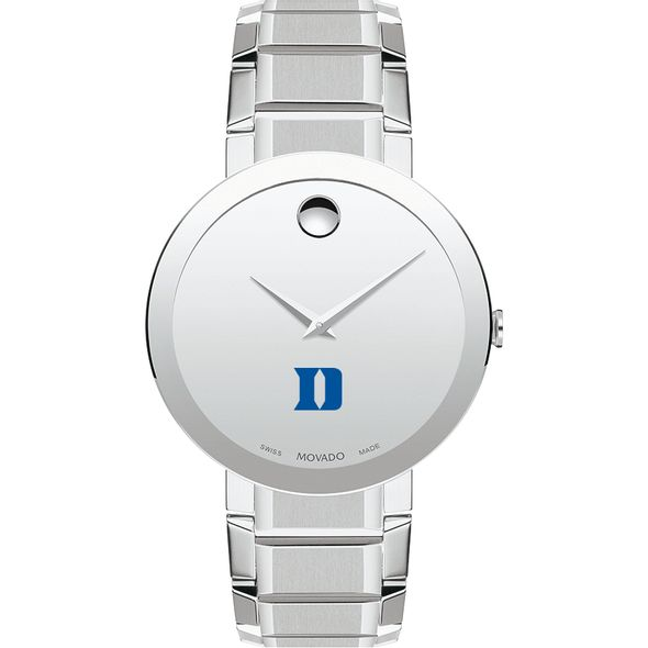 Duke University Men's Movado Sapphire Museum with Bracelet - Image 2