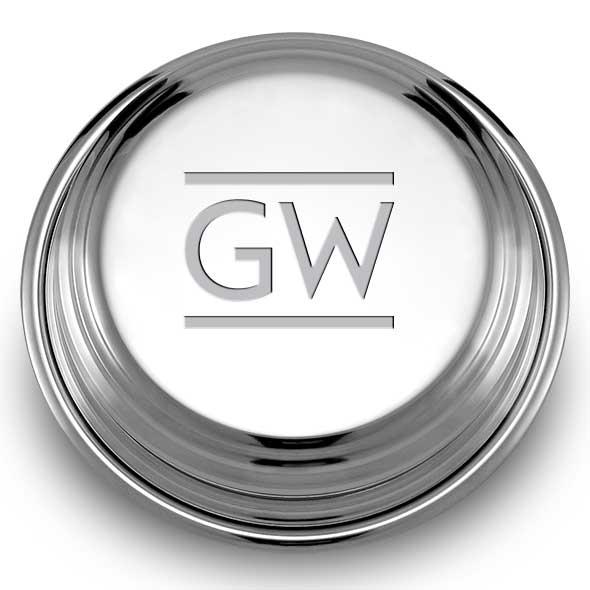 George Washington Pewter Paperweight - Image 2