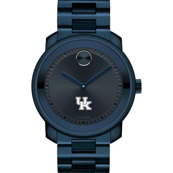 University of Kentucky Men's Movado BOLD Blue Ion with Bracelet - Image 2