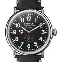 Carnegie Mellon Shinola Watch, The Runwell 47mm Black Dial