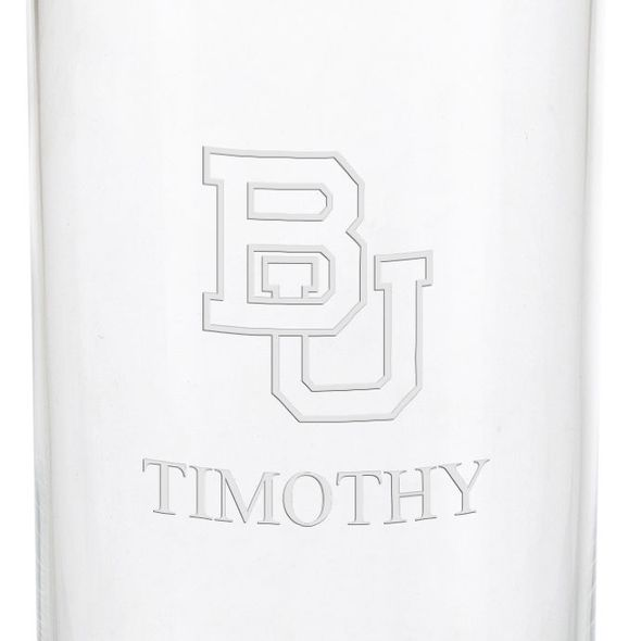 Boston University Iced Beverage Glasses - Set of 2 - Image 3