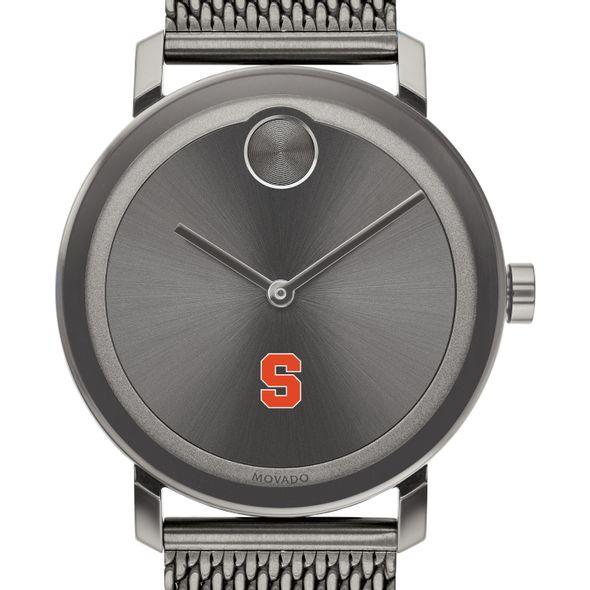 Syracuse University Men's Movado BOLD Gunmetal Grey with Mesh Bracelet