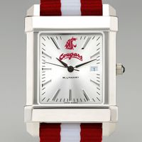 Washington State University Collegiate Watch with NATO Strap for Men
