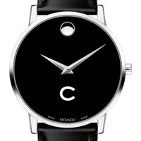 Colgate Men's Movado Museum with Leather Strap