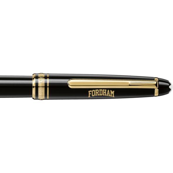 Fordham Montblanc Meisterstück Classique Rollerball Pen in Gold - Image 2
