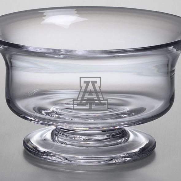 University of Arizona Simon Pearce Glass Revere Bowl Med - Image 2