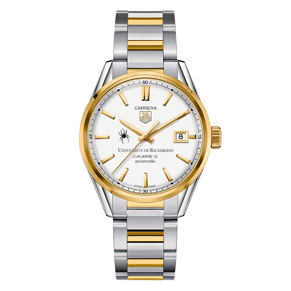 University of Richmond Men's TAG Heuer Two-Tone Carrera with Bracelet - Image 2