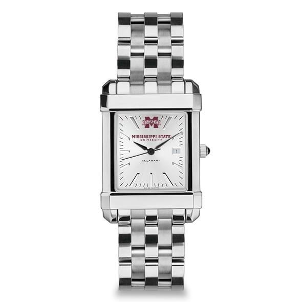 Mississippi State Men's Collegiate Watch w/ Bracelet - Image 2