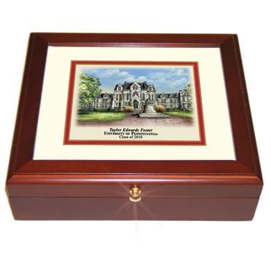 Penn Eglomise Desk Box