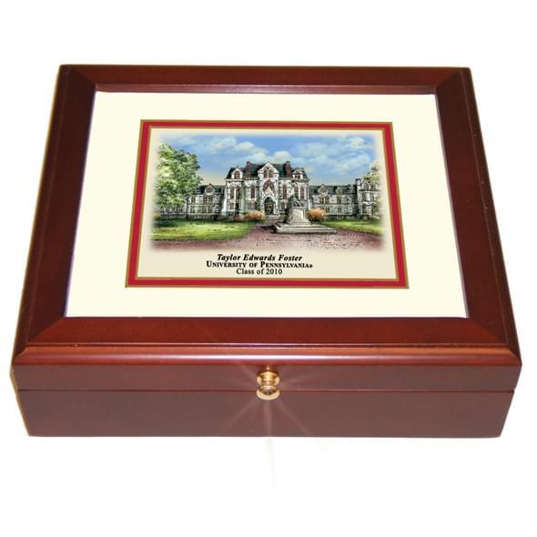 Penn Eglomise Desk Box - Image 2