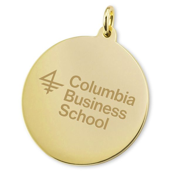 Columbia Business 18K Gold Charm - Image 2