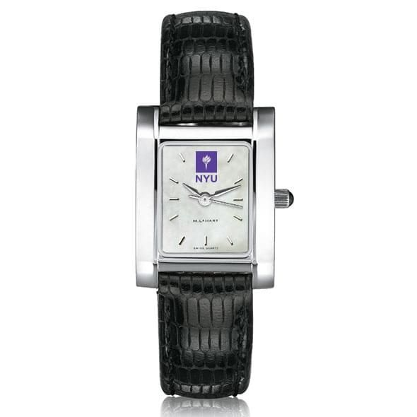 NYU Women's MOP Quad with Leather Strap - Image 2