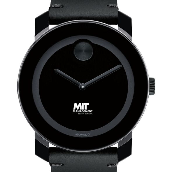 MIT Sloan Men's Movado BOLD with Leather Strap - Image 1