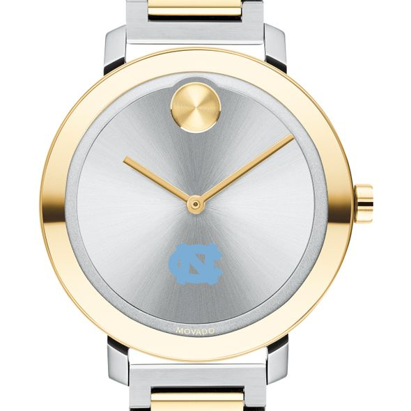 University of North Carolina Women's Movado Two-Tone Bold 34